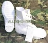 Norcross White Size 8Wide MICKEY MOUSE BUNNY BOOTS -30° ECW USGI NEW