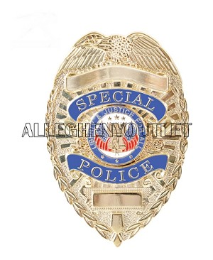 GI Type Deluxe Special Police Badge