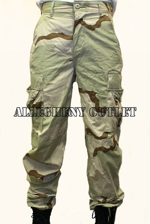 USGI 3 Color Desert Camo NYCO Ripstop DCU Pants XS NEW