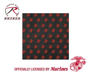Bandana - USMC Globe and Anchor Pattern