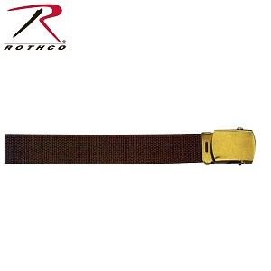 Brown Web Belt