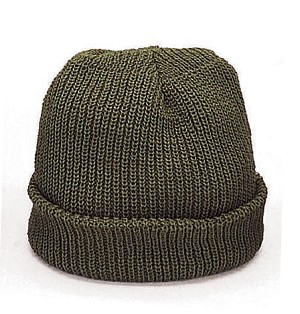 Military Winter Beanie Hat Acrylic Watch Cap