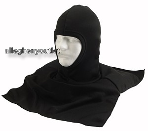 Black Polypropylene Thermal Balaclava with Dickie Hood