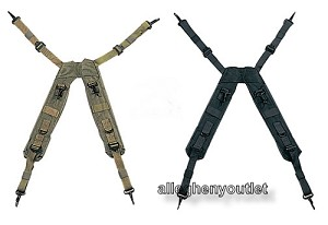 Military Army Style Tactical H-Type LC-1 Load Bearing Suspenders