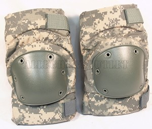 USGI Military ACU Universal Camo Alta Knee Pads Medium