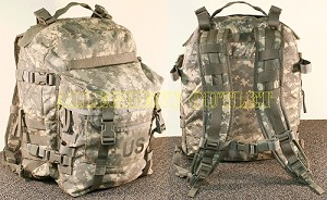 USGI Military Digital ACU 3 Day ASSAULT BACK PACK MOLLE RUCK SACK
