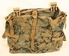 USMC ILBE MARPAT GEN 2 RADIO / UTIITY POUCH TAN BUCKLE For Main Pack Rucksack