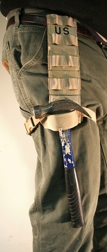 LOT OF 15 DROP LEG HOLSTER EXTENDER MOLLE THIGH PANEL TAN US Army IFAK Knife