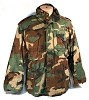 USGI Military Army Woodland Camo M-65 M65 Field Coat Jacket NICE