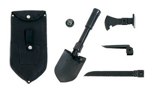 5 Piece Multi Purpose Military Tool Set