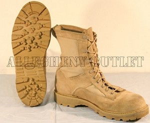 USGI WATERPROOF Goretex Tan ICB Hiking Hunting Camping COMBAT BOOTS Mint Condition