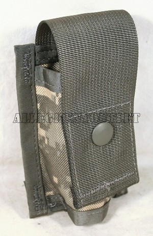 USGI Military Army ACU Digital 40MM Single Grenade Pyrotechnic Pouch SDS NEW
