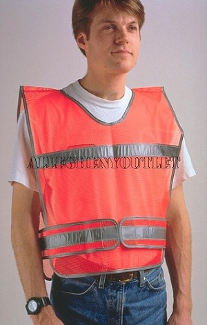 USGI MILITARY High Visibility Safety Vest Type VI NEW IN BAG UNISSUED