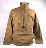 USMC POLARTEC 100 FLEECE 1/2 Zip PULLOVER JACKET Coat Coyote Brown Small