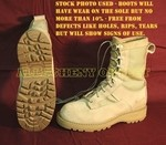 MILITARY GORETEX Waterproof ACU TAN ICB COMBAT BOOTS NEAR MINT