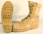 US Military Army Desert Tan Sierra JUNGLE COMBAT BOOTS Vibram Sole