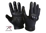 Goatskin Leather Hard Knuckle Cut Resistant Tactical Gloves