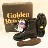 Golden Retriever Military Black Leather Boots Size 5W NEW IN BOX UNISSUED